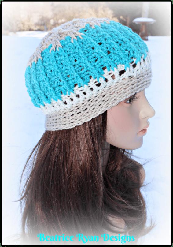 snow-mountain-beanie-free-crochet-pattern