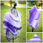 Fades of Purple Shawl… Free Crochet Pattern!!