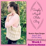 Simply August Boho Bag CAL..Week 1 Instructions!!!