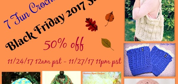 Black Friday Crochet Pattern Sale!