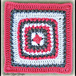 Coral and Stone Square… Free Crochet Pattern!