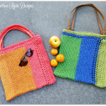 Summer Stripe Tote Bag… Free Crochet Pattern!!!