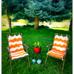 Lazy Daze Lawn Chair Cover.. Free Crochet Pattern!!
