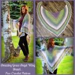 Amazing Grace Angel Wing Shawl… Free Crochet Pattern!