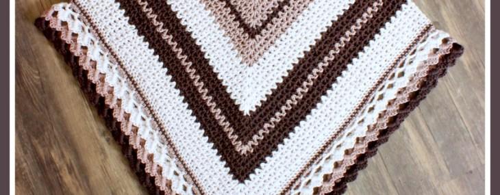 Coffee and Cream Poncho… Free Crochet Pattern!