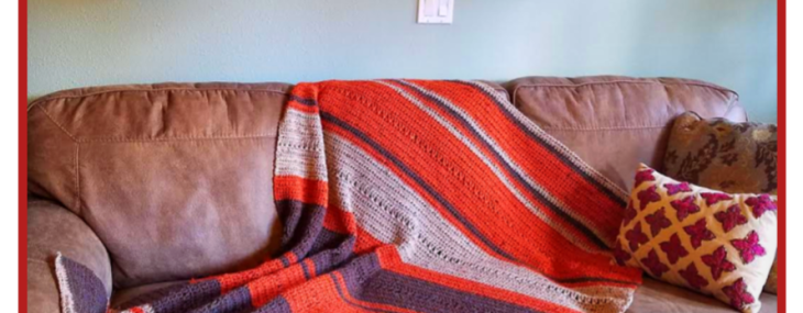 Easy Fall Blanket… Free Crochet Pattern!!