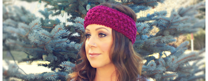 Berry Blitz Headband… Free Crochet Pattern!