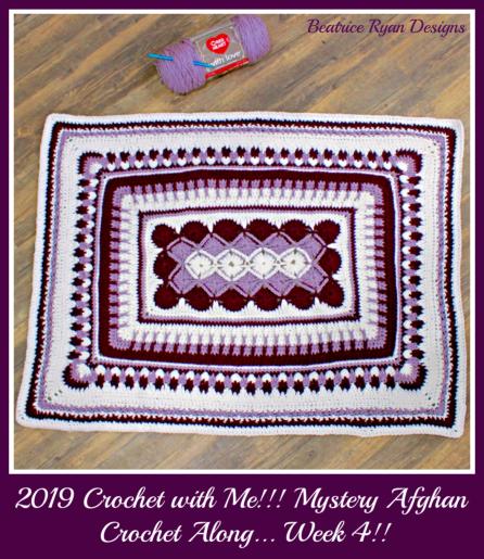 CROCHET WITH ME!! Crochet~A~Long -             Beatrice Ryan