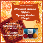 Whimsical Autumn Afghan Mystery Crochet Along