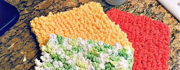 Loops & Chains Super Scrubby Dishcloth… Free Crochet Pattern!!!