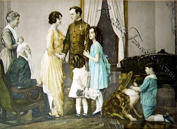 Beatrice Tonnesen Group Image, circa WWI