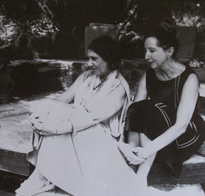 Beatrice Wood and Anais Nin