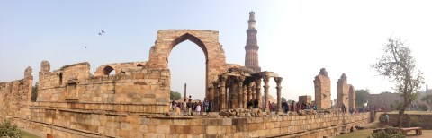 Qutab Minar in New Delhi
