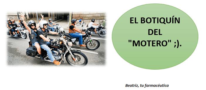 ¿Qué llevar en el botiquín de tu moto?