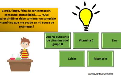 Estoy de exámenes, ¿qué vitaminas, son las mejores para estudiar?