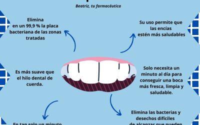 ¿Cuál es la manera más eficaz y fácil de limpiar entre los dientes?