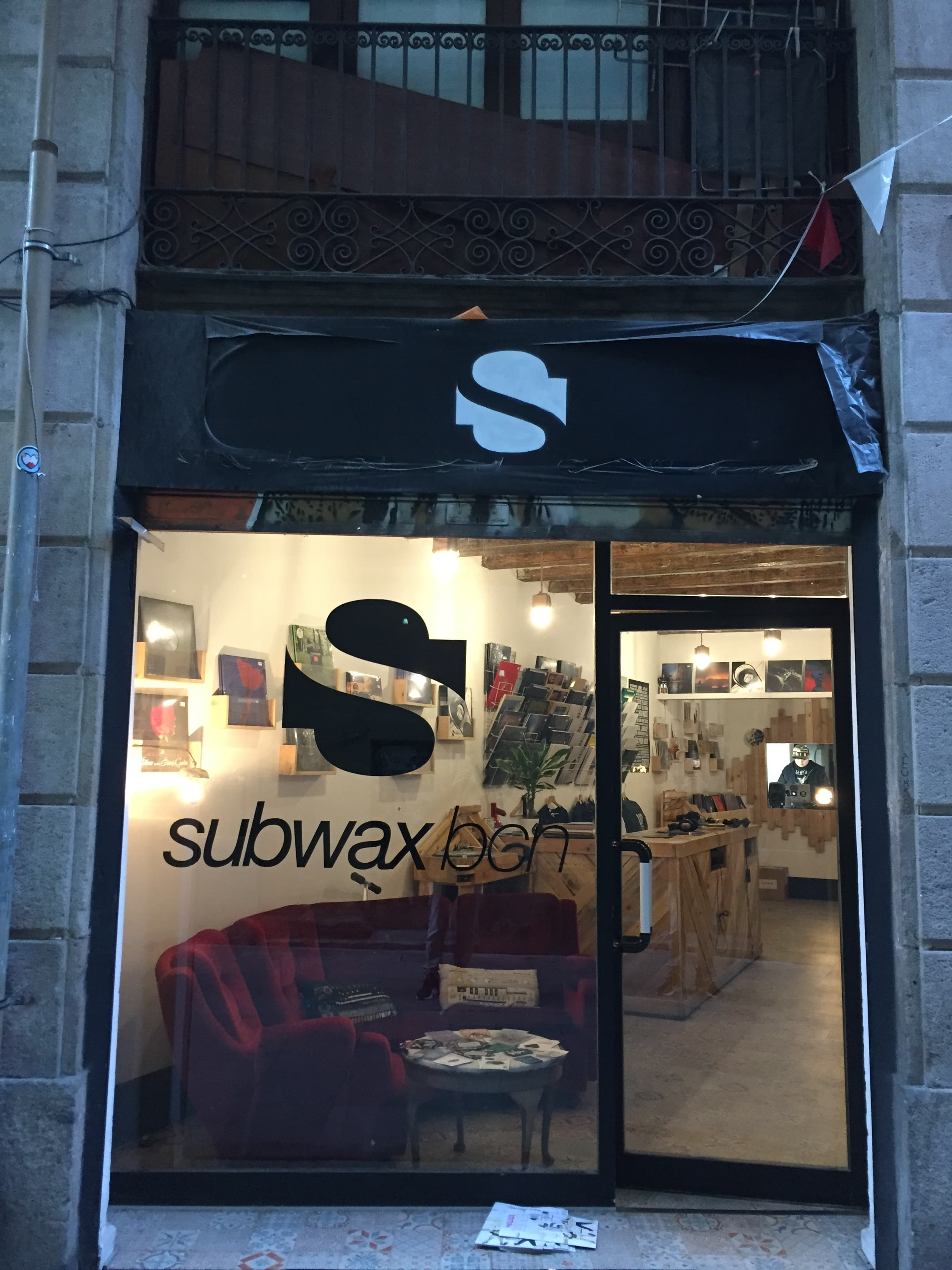 Subwax Store Front