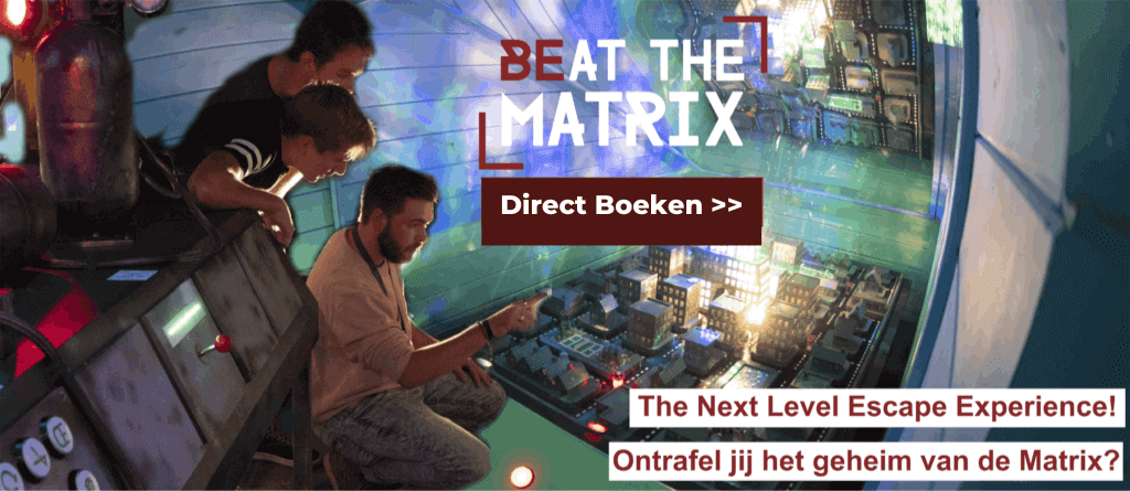 Beat The Matrix, the next level escape experience