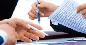 holding documents