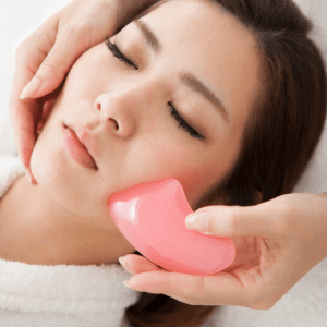 V-lift Massage Facial with Guasha