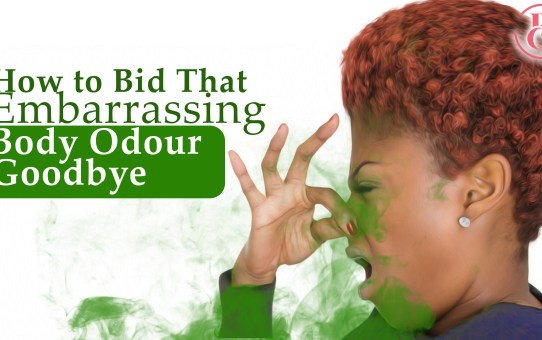 6 Ways to Bid That Embarrassing Body Odour Goodbye