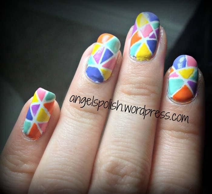 Mosaic Nail Trend (20)