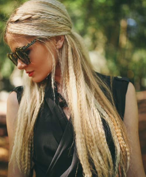 Μαλλιά τοστιέρα - Crimped hair (20)