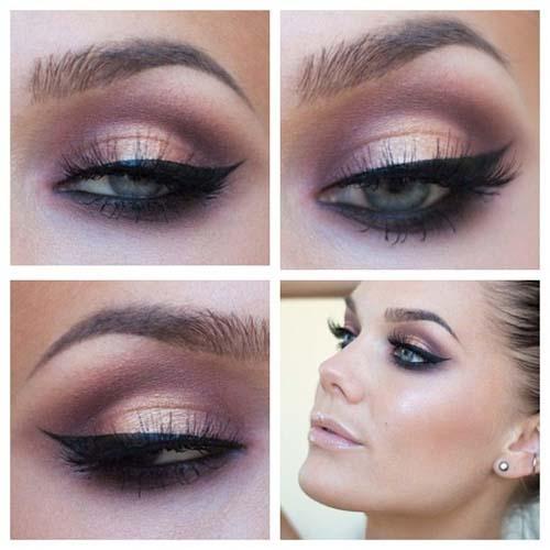 Ροζ μακιγιάζ ματιών (13)