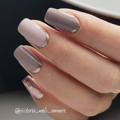 Κομψά και διακριτικά σχέδια για νύχια (22)