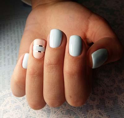 Κομψά και διακριτικά σχέδια για νύχια (26)