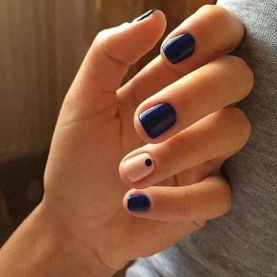 Κομψά και διακριτικά σχέδια για νύχια (34)