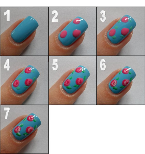 Nice Nail Art Step By Designs 15 All Inspiration Article