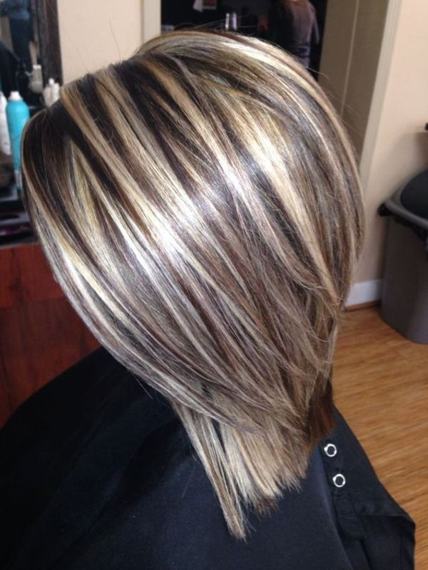 Blonde And Brown Hair Highlights