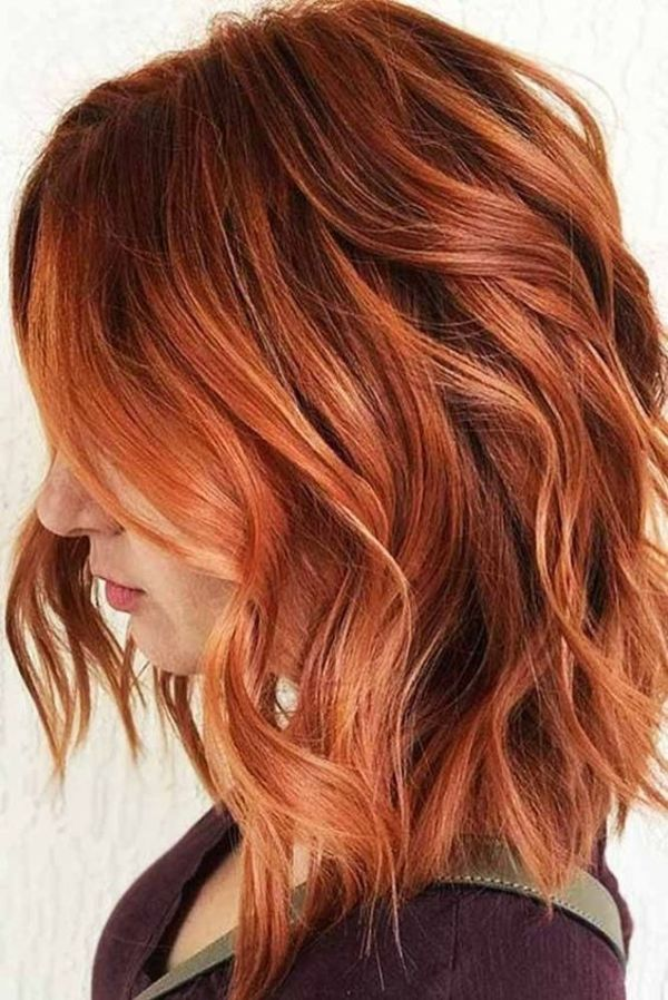 Copper Hair Highlights
