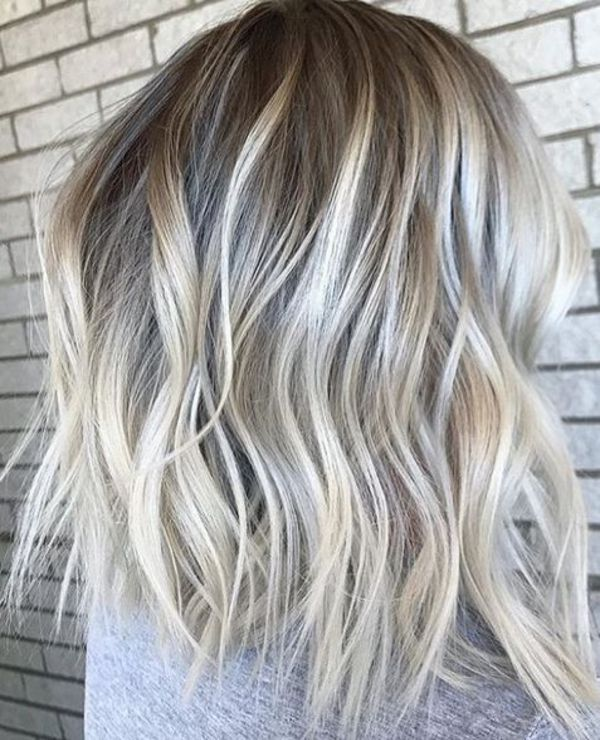 Dark Blonde Hair Highlights