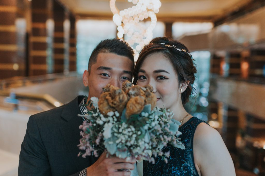 Shannon Wei En KFC Wedding Bouquet 2