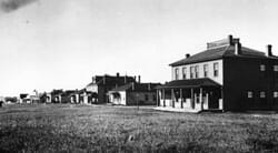 Fort Buford Officer Row