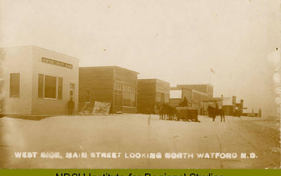 Watford City 1916