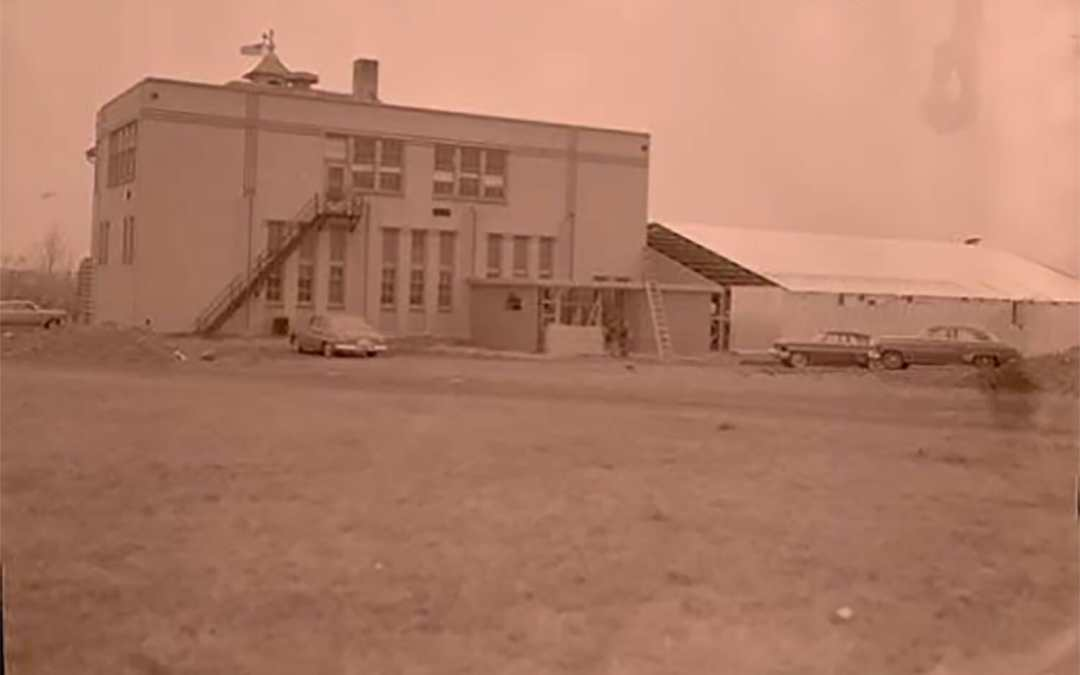 Remember Arnegard School in 1954?  Then and Now