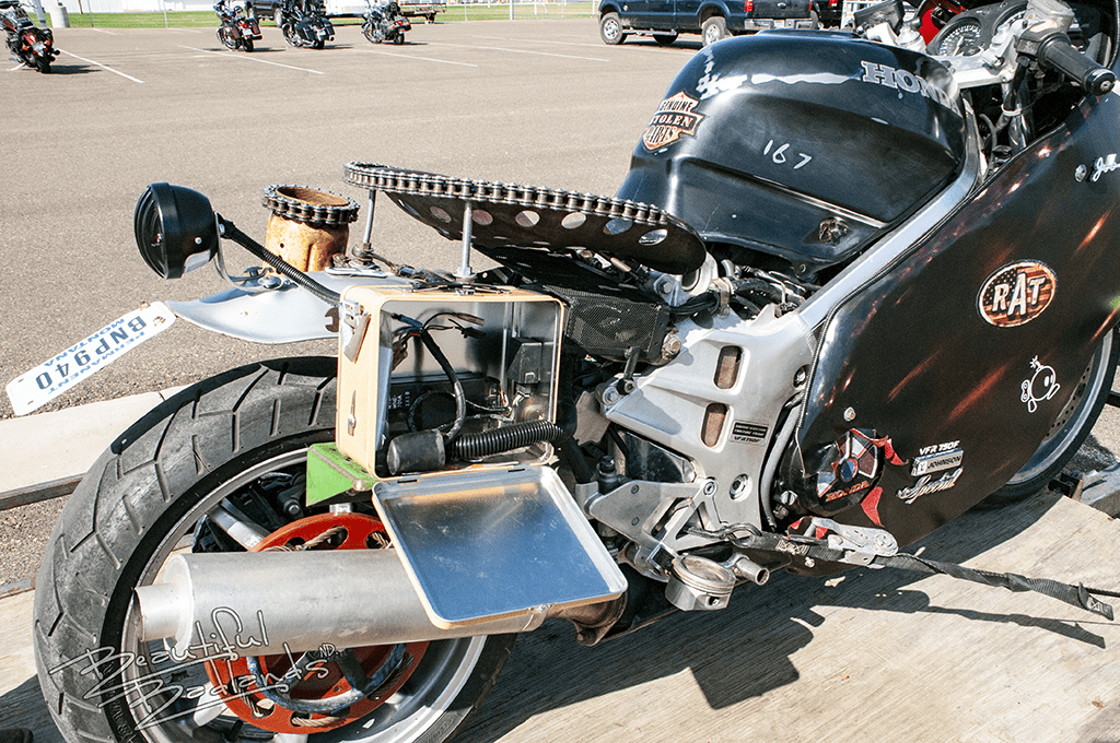 Eastern Montana scootfest rat bike Sidney
