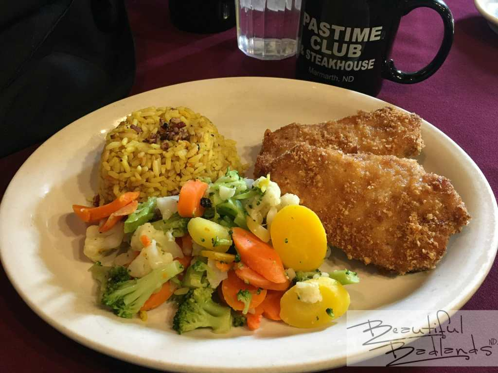 Eat at the Past Time Club & Steakhouse for fine dining in southwestern North Dakota.