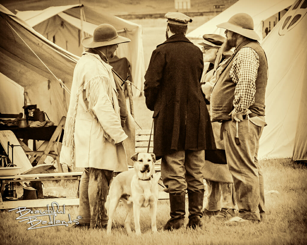 dog trappers traders Fort Union rendezvous