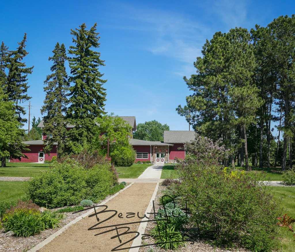 walkway visitor center DREC Dickinson Secret Garden