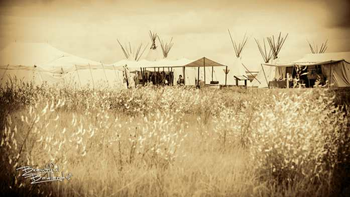 Fort Union Trading Post tents