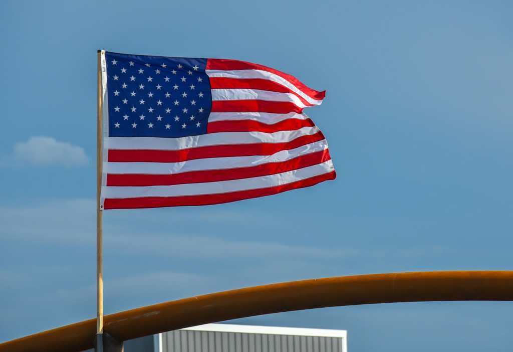 Patriotism is as much a part of rodeo as the cowboys themselves.
