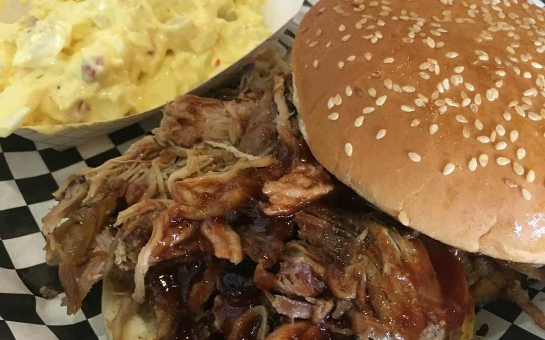 Tasty Tuesday.   American Smoke Wagon BBQ Rocks It!!