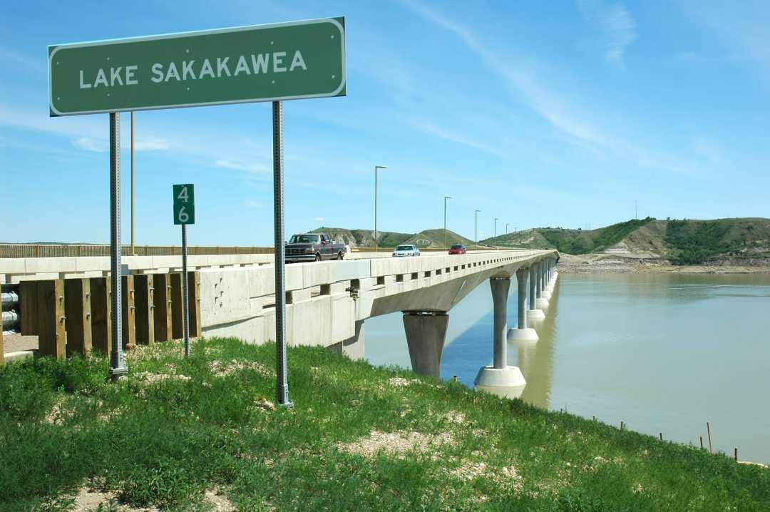 four bears bridge scenic highway 22 north dakota badlands