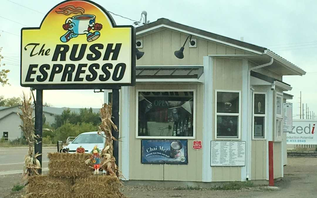 Good Coffee, Fast!   The Rush Espresso in Sidney Rocks It!