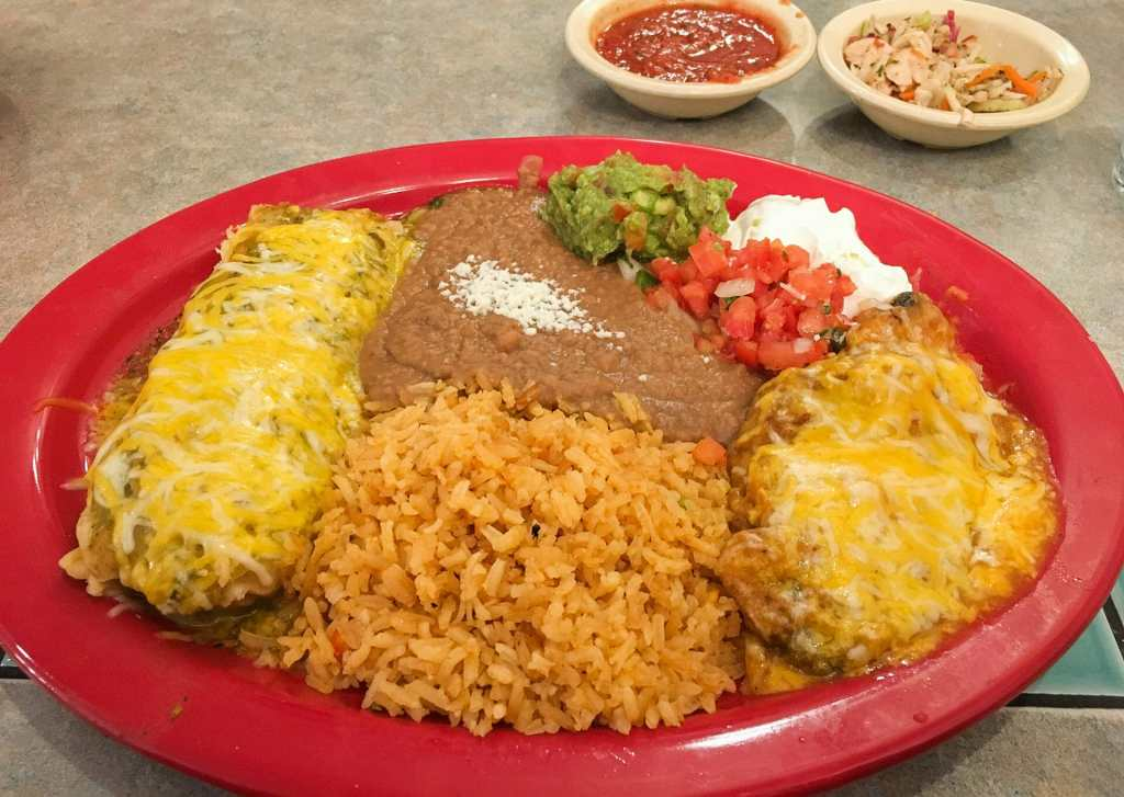 Tamale and Chili Relleno are among the ala cart choices at Los Compadres in Williston, North Dakota