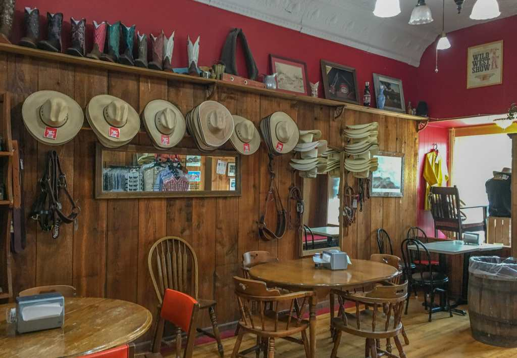 A Cup of Coffee, Food, and Western Merchandise